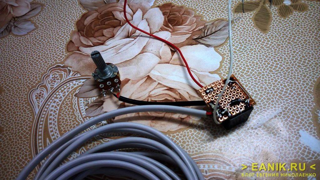 Терморегулятор на микросхеме TL431