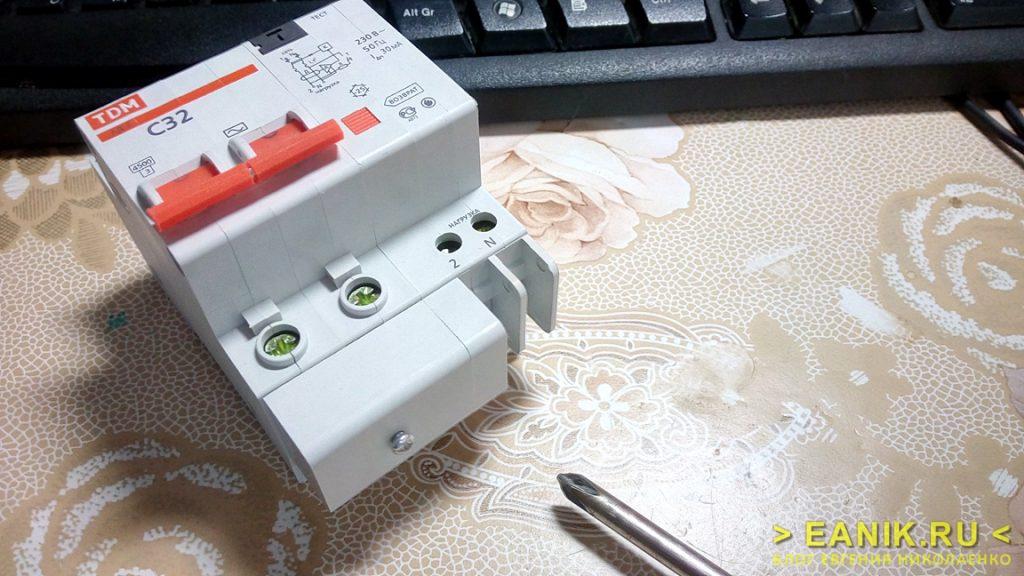 Дифференциальный автомат АД-2 фирмы TDM Electric