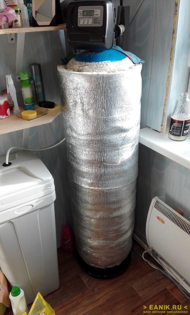 Фильтрующая колонна - утепленный вариант