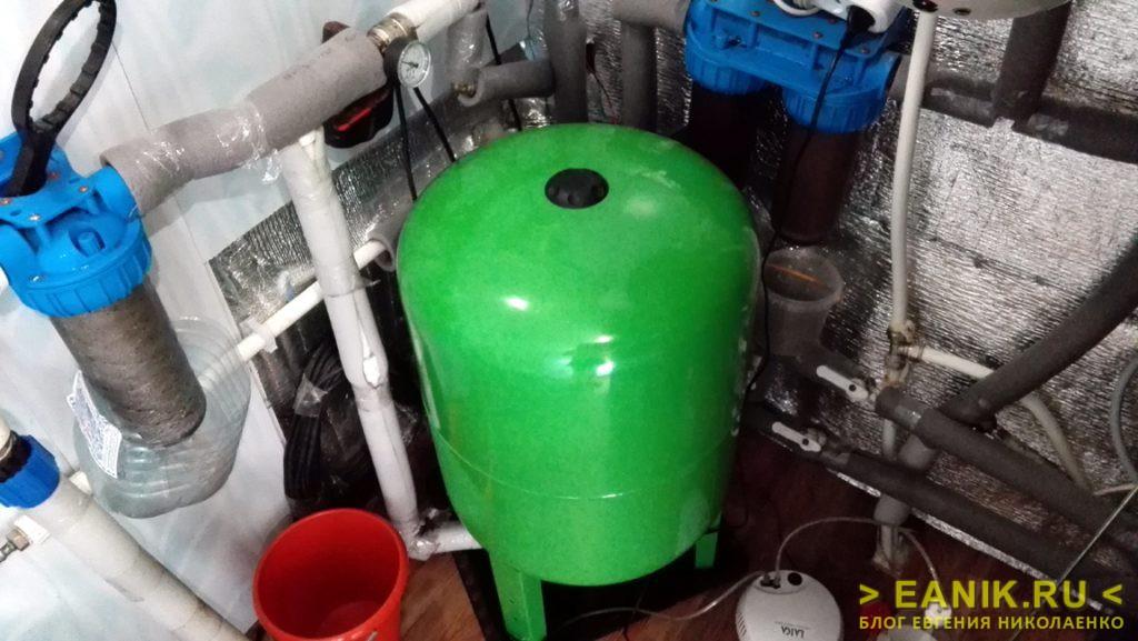 Гидроаккумулятор - сердце системы автономного водоснабжения